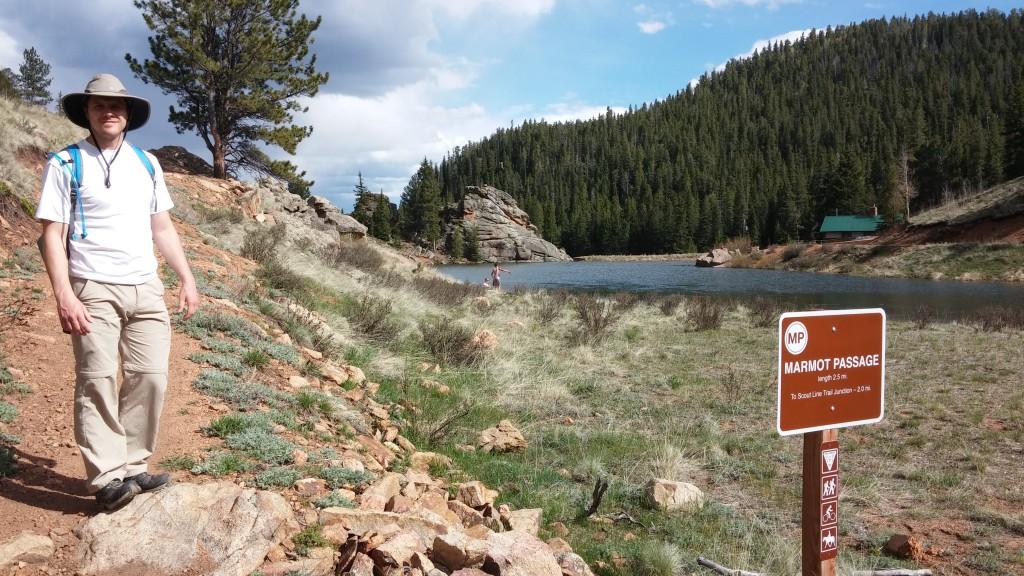Elk Falls Pond