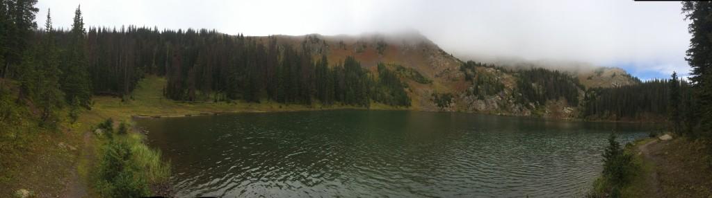 Bowen Lake in the morning