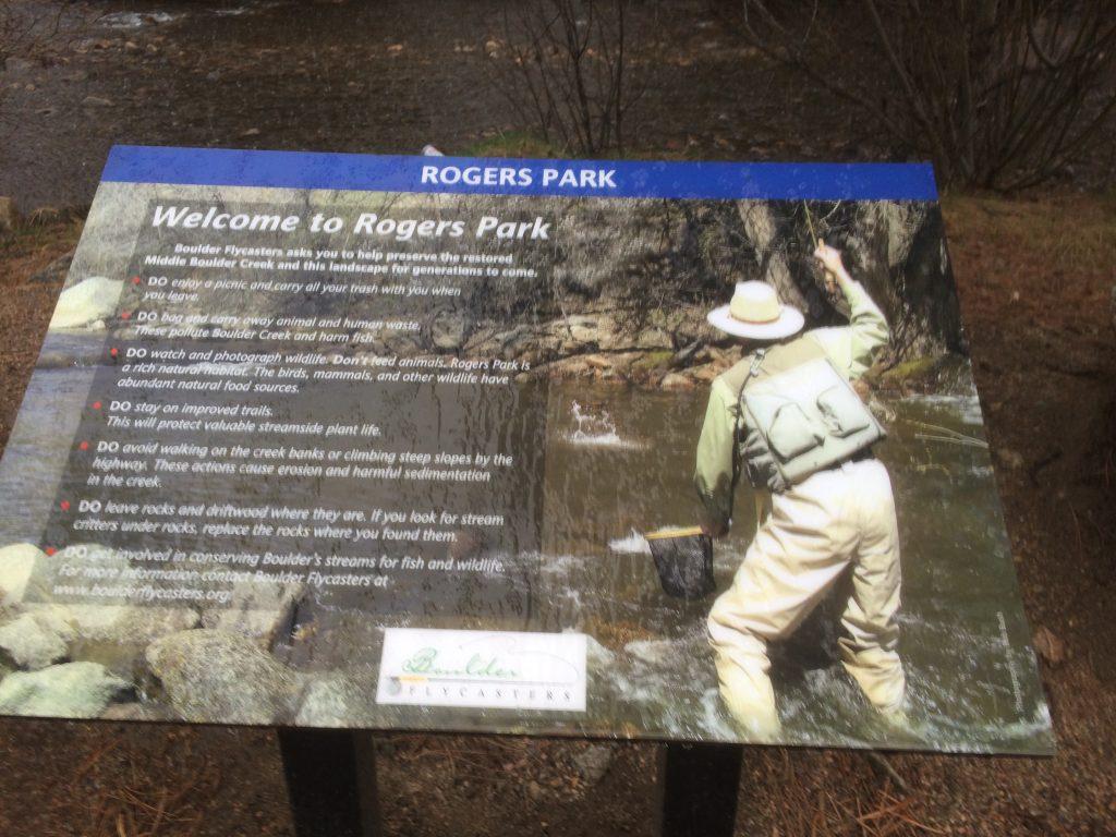 Rogers Park Placard