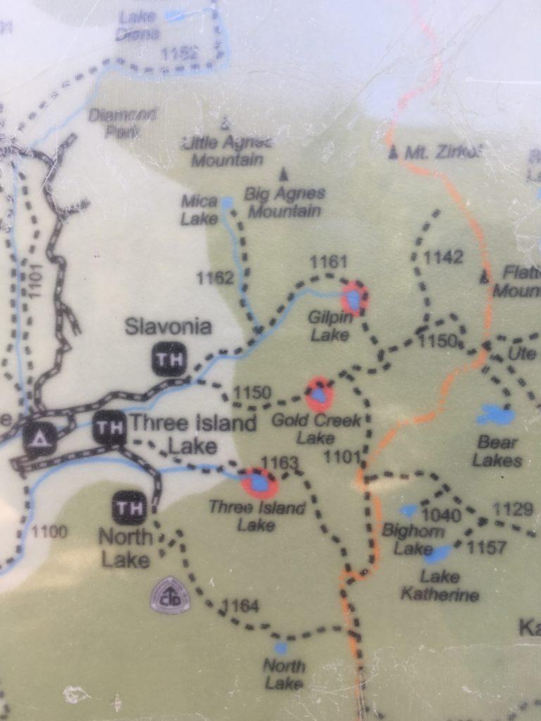 Gilpin Trail Map