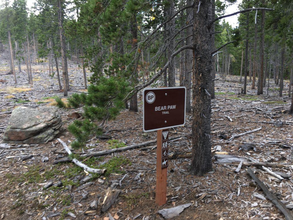 Bear Paw Loop Sign