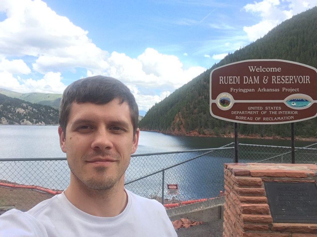 Ruedi Dam Sign